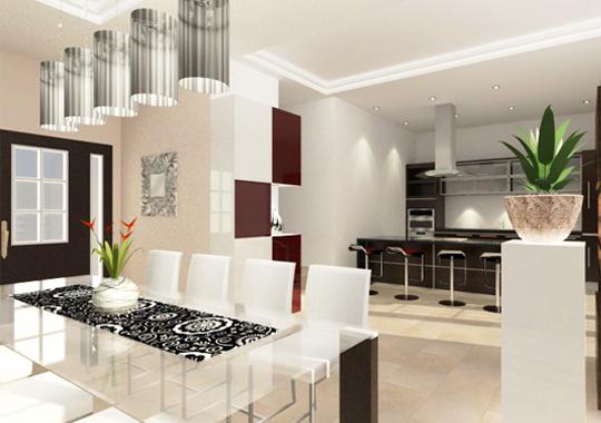 Yuki Hau Interior and Design » Eetkamer